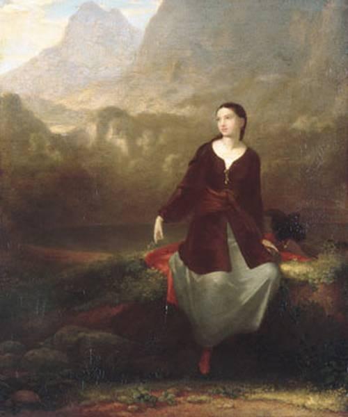 The Spanish Girl In Reverie